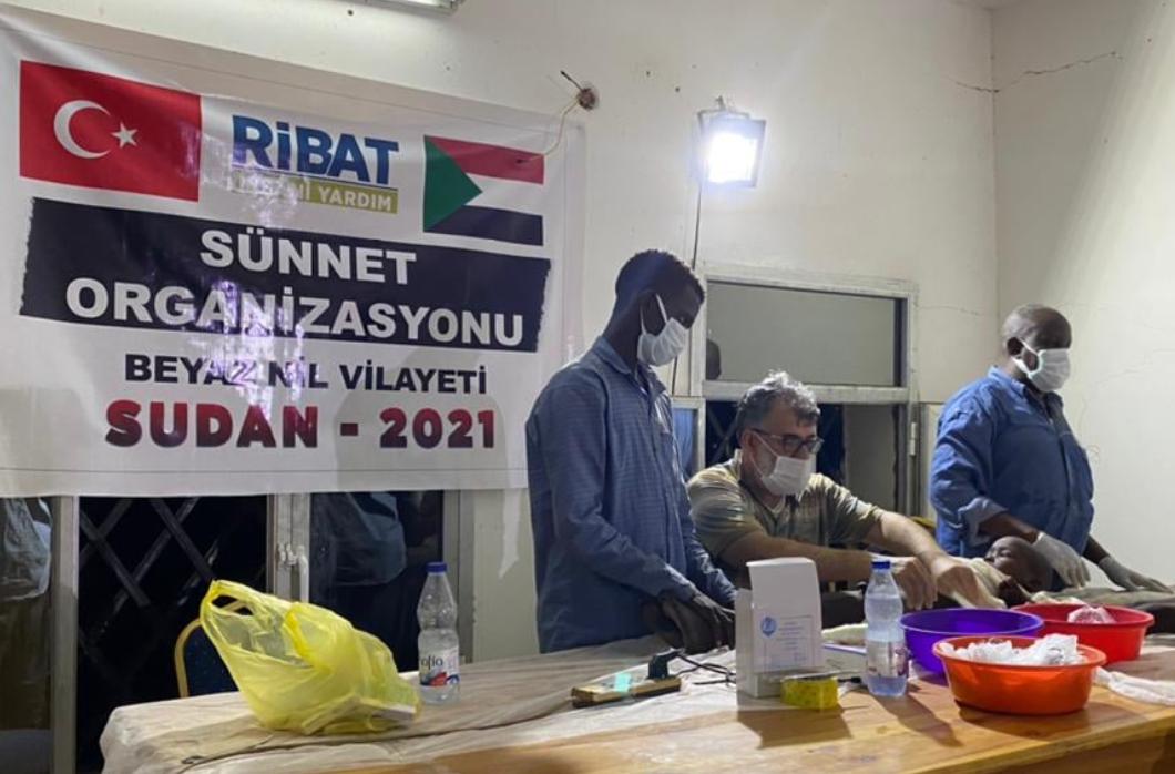 Ribat'ımızdan Sudan'da Sünnet Organizasyonu
