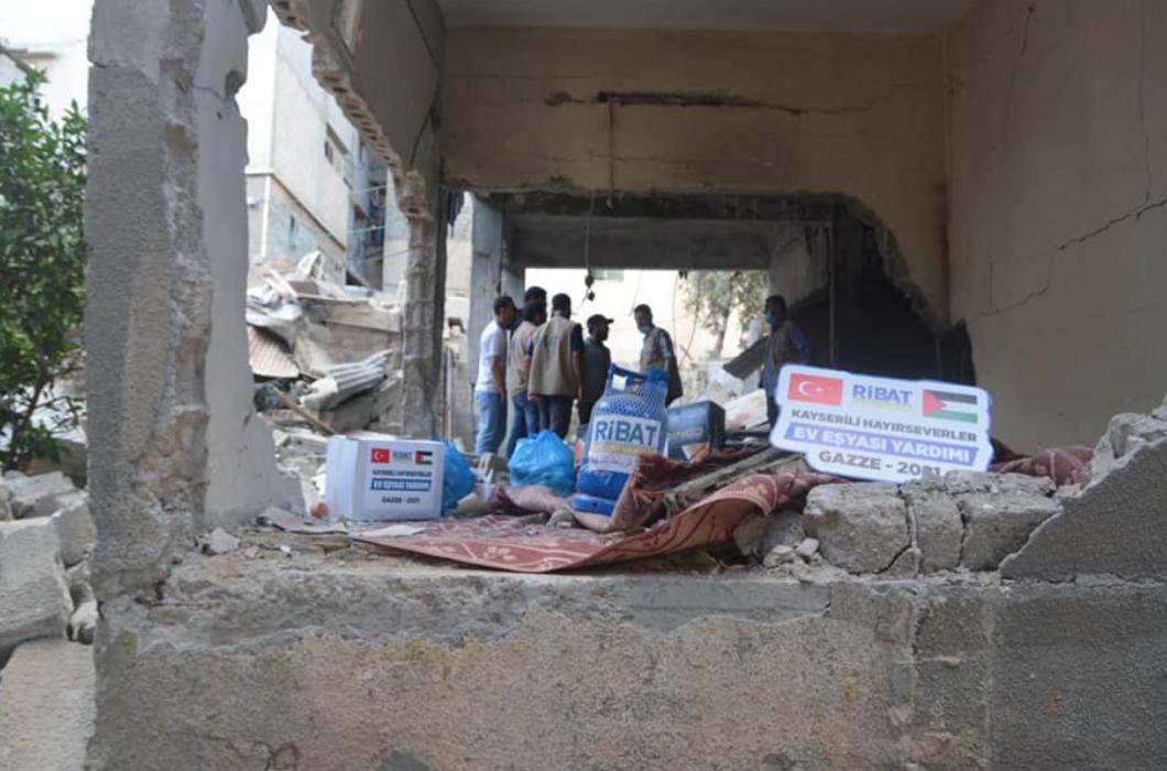 Gazze'nin Yaralarını Birlikte Sarıyoruz