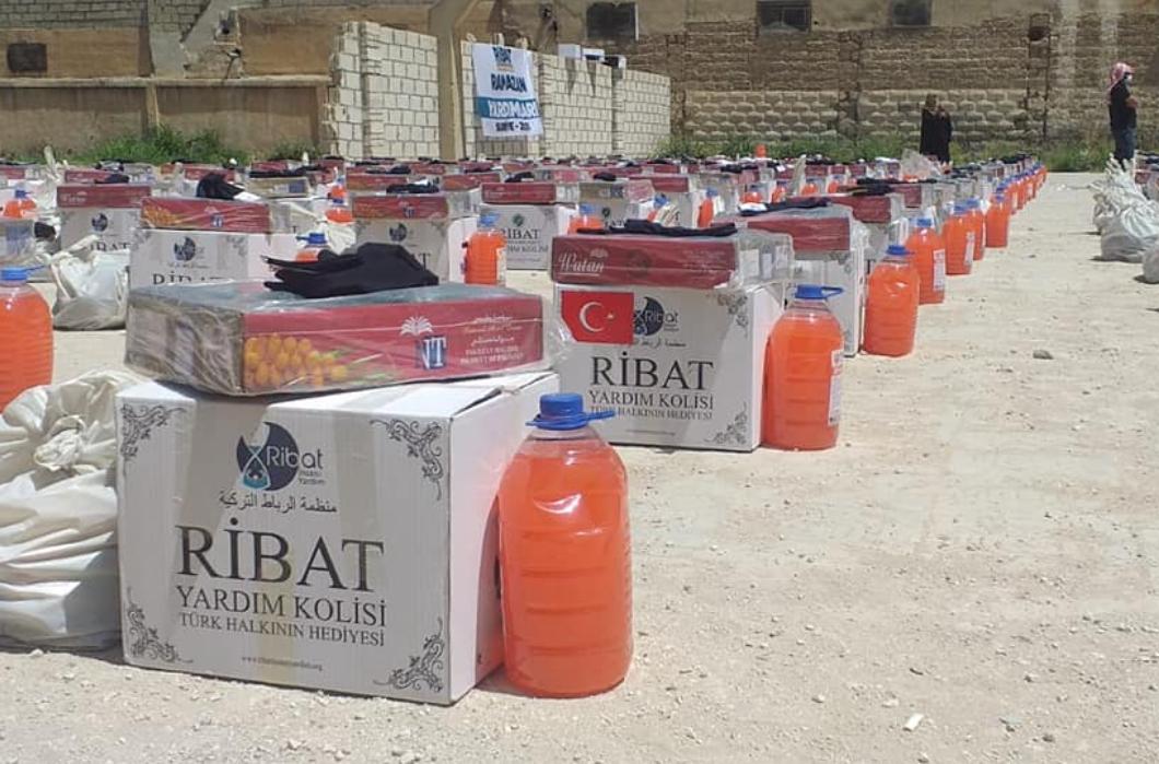 Gıda Bağışlarınız Suriyeli Mazlumlara Ulaşıyor.