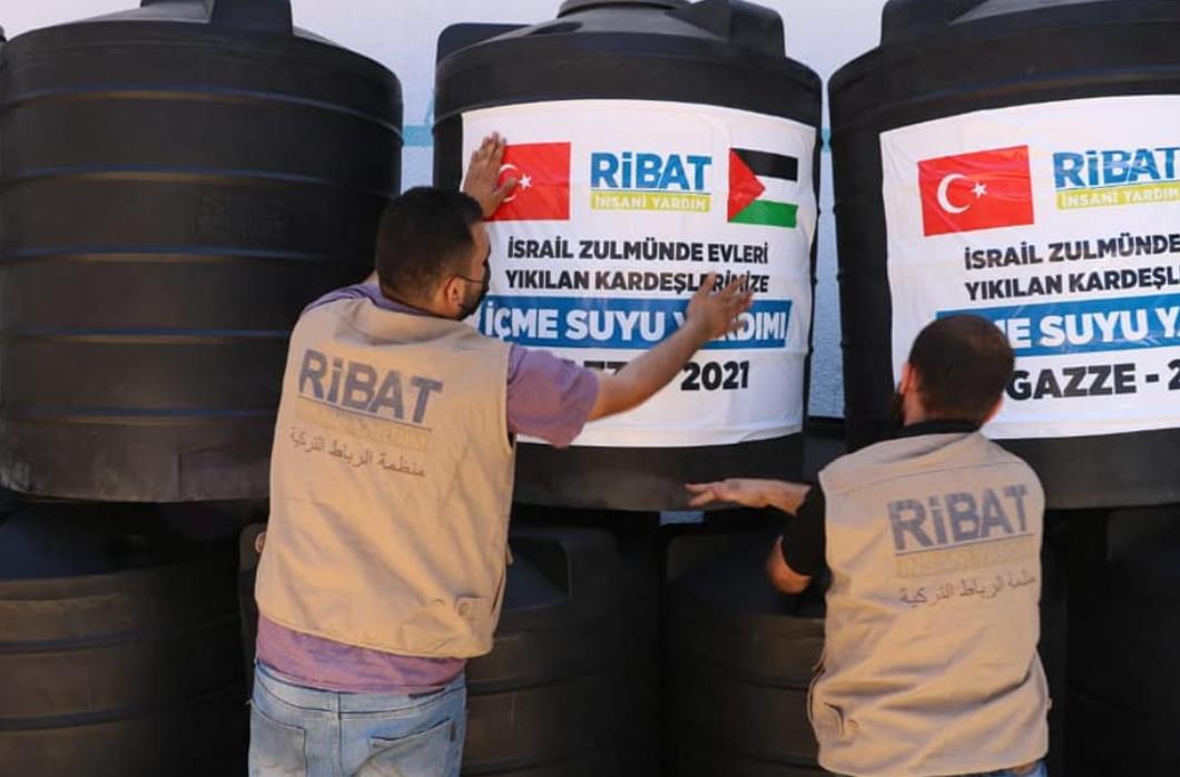 Gazze İçin İçme Suyu Yardımı