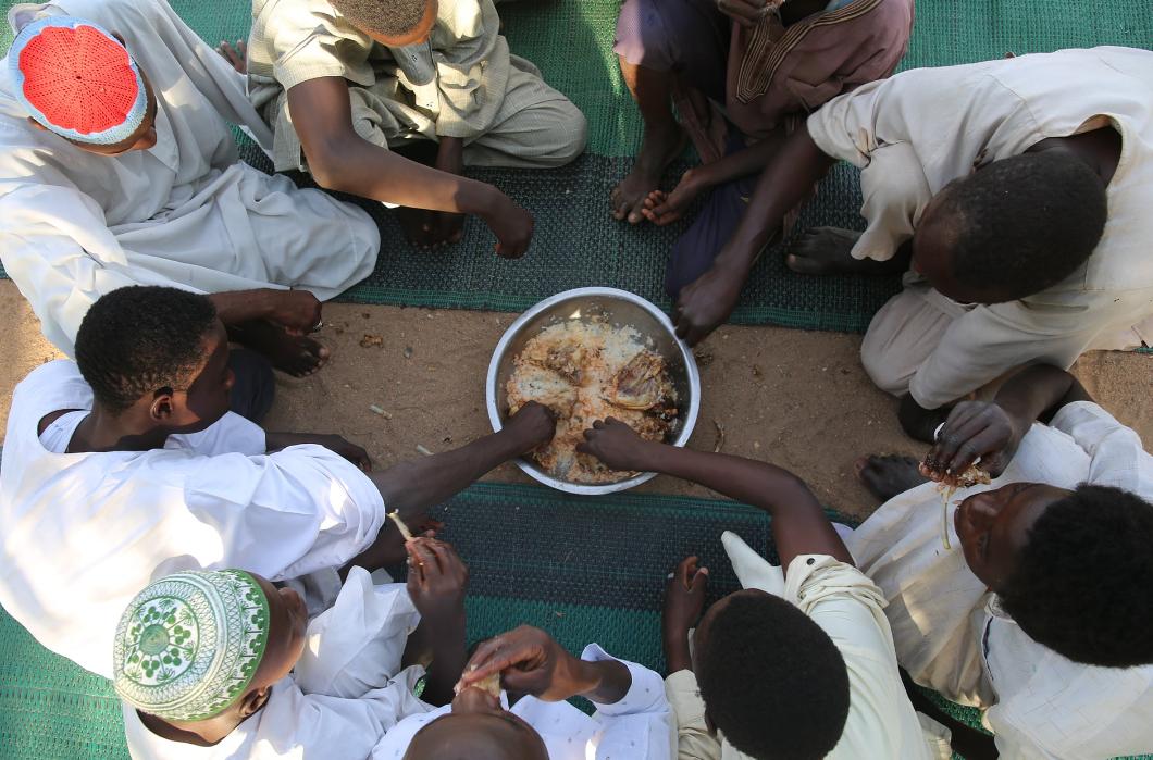 Sudan'da Yemek İkramlarımıza  Devam Ediyoruz.