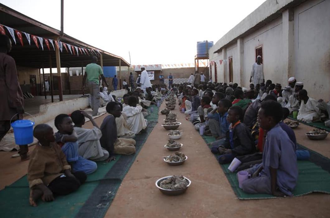 Sudan'da İftar Sevinçleri Yaşattınız