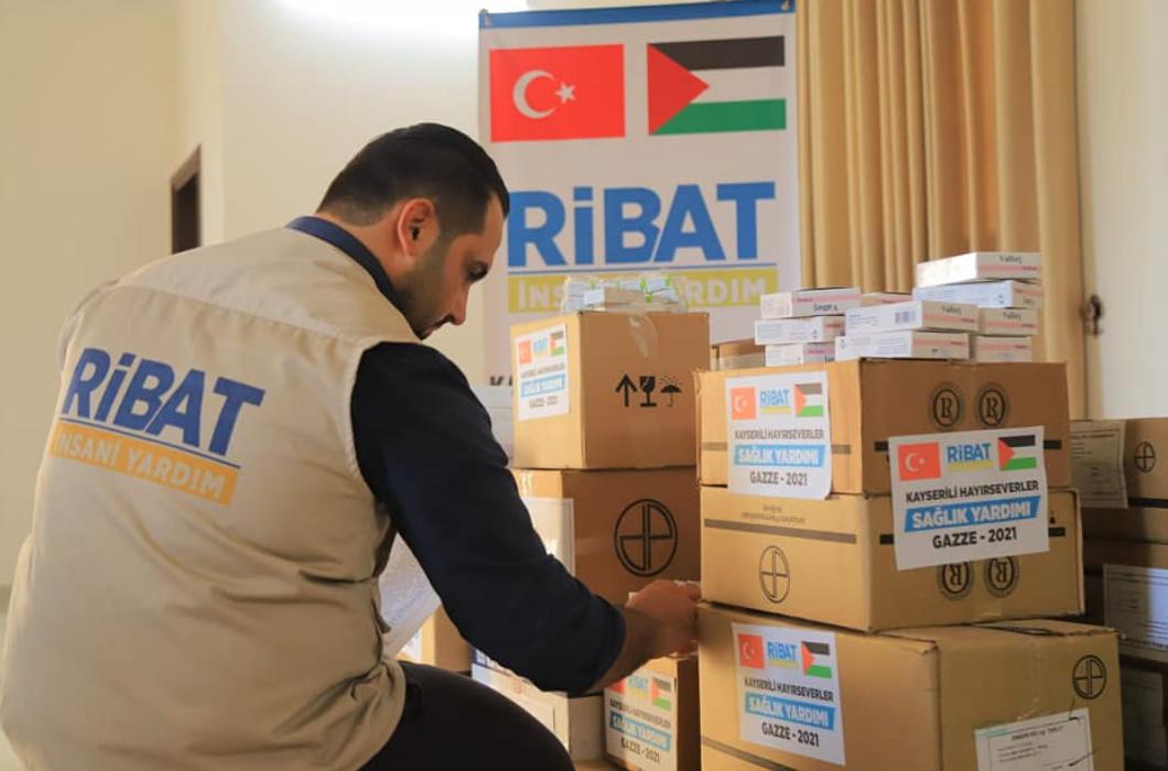 Gazze'ye Tıbbi Malzeme Desteği