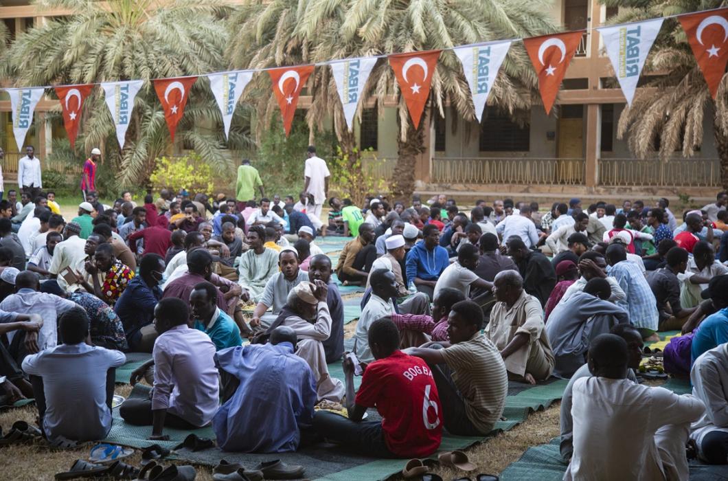 Uluslararası Afrika Üniversitesinde Okuyan 1500 Öğrenciye İftar Verdik