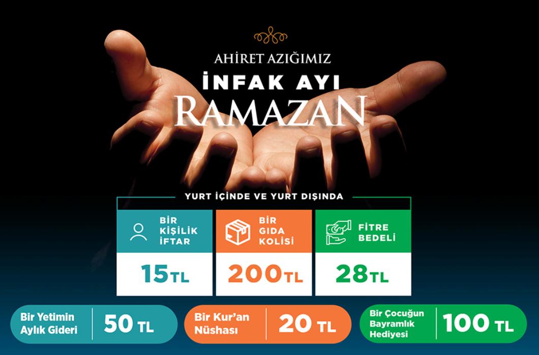 2021 Ramazan'a Hazırız