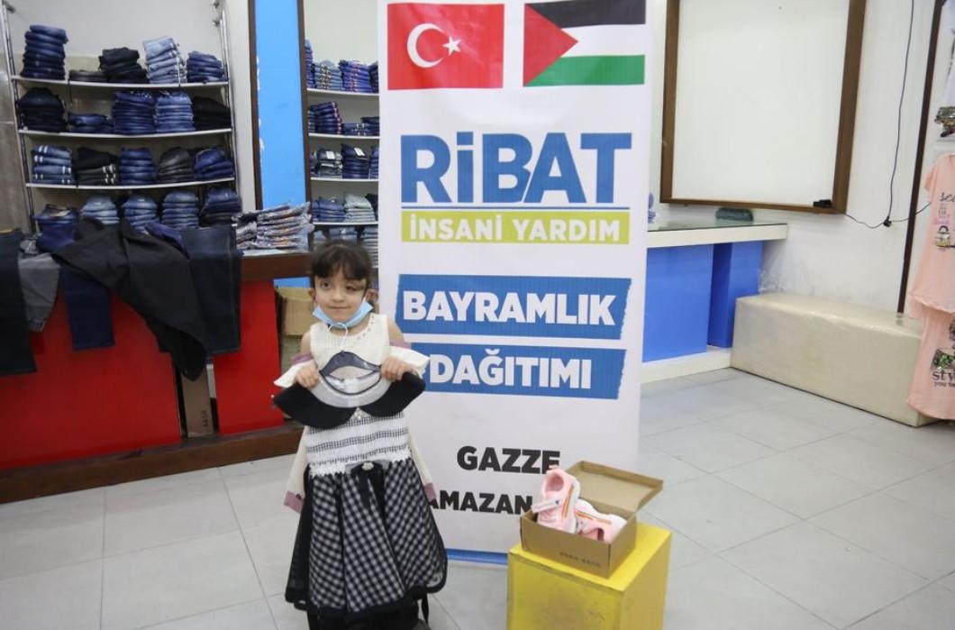 Gazze'de Bayram Sevinci Yaşatıyorsunuz